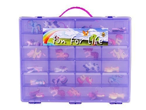 Fun For Life My Little Pony Compatible Organizer - Grape