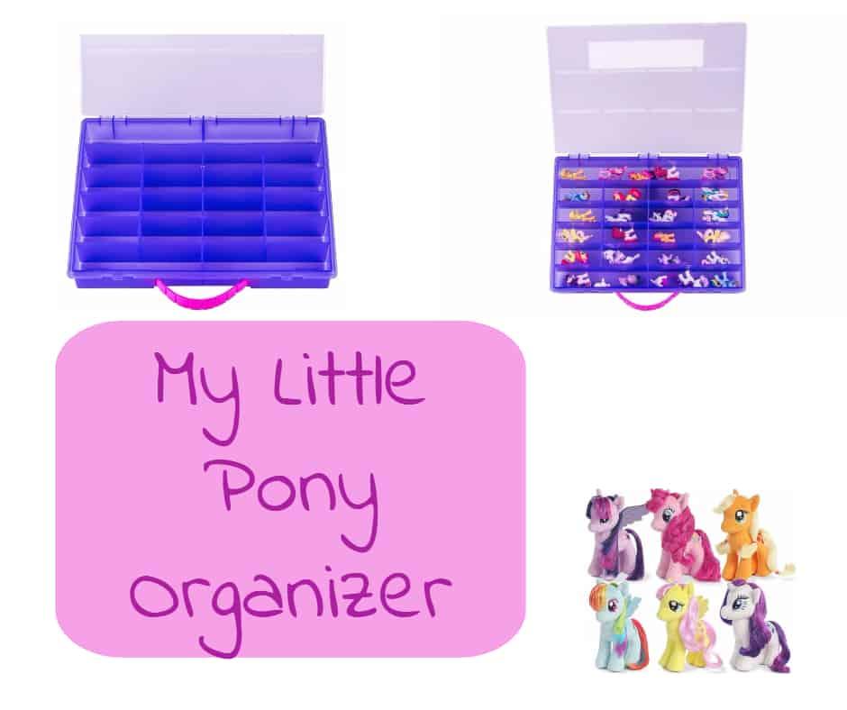 my little pony organizer