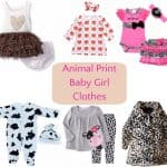 Animal Print Baby Girl Clothes