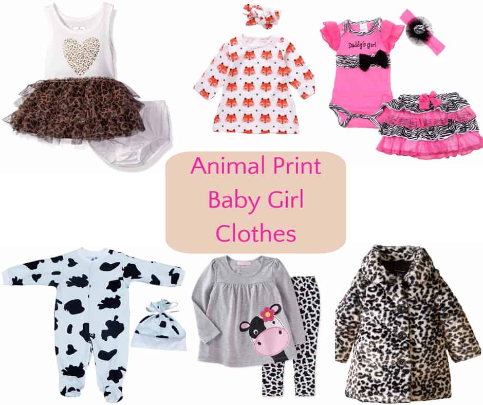 Animal Print Baby Girl Clothes Hip Who Rae