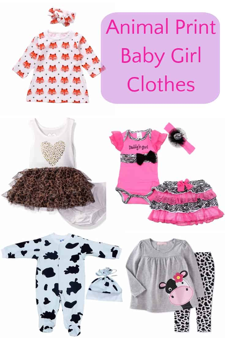 Animal Print Baby Girl Clothes - These are just so adorable