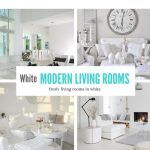 White Modern Living Rooms- Summer Ideas