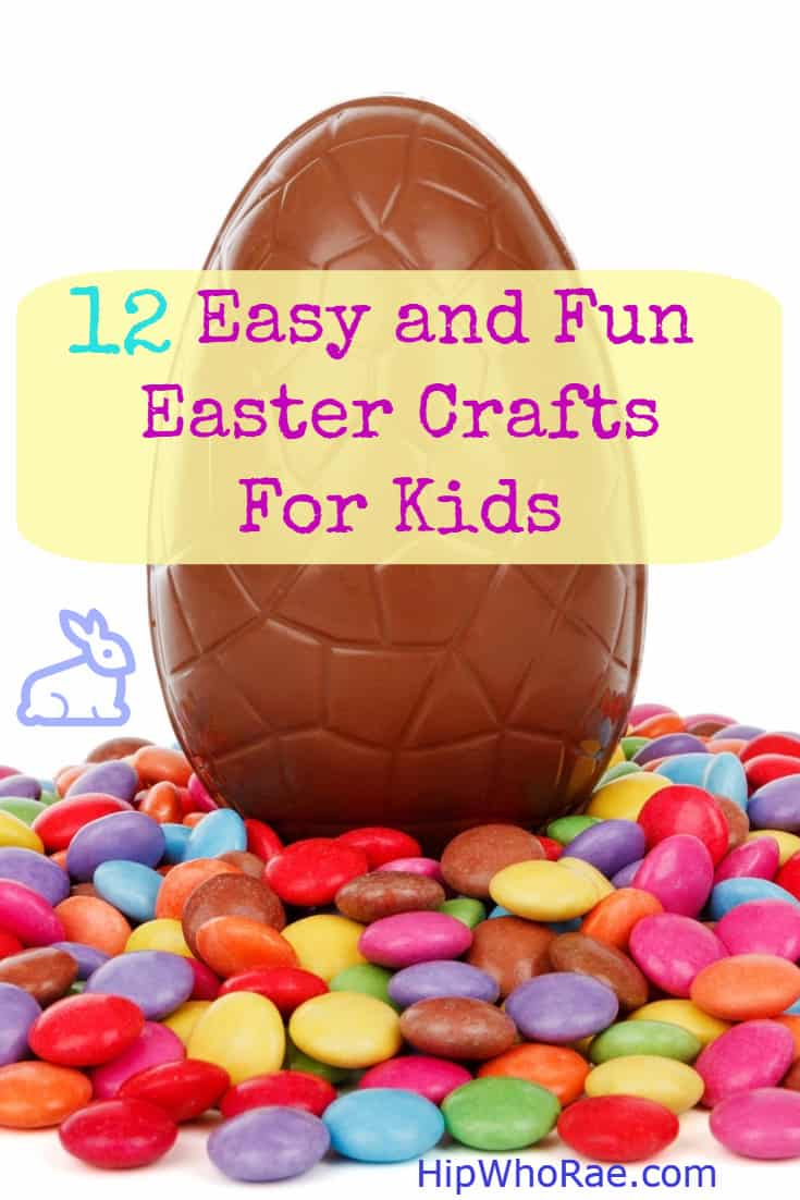 12 Easy and Fun Easter Crafts For Kids-Love doing crafts with the kids then these fun and easy crafts will have your kids enjoying themselves so much