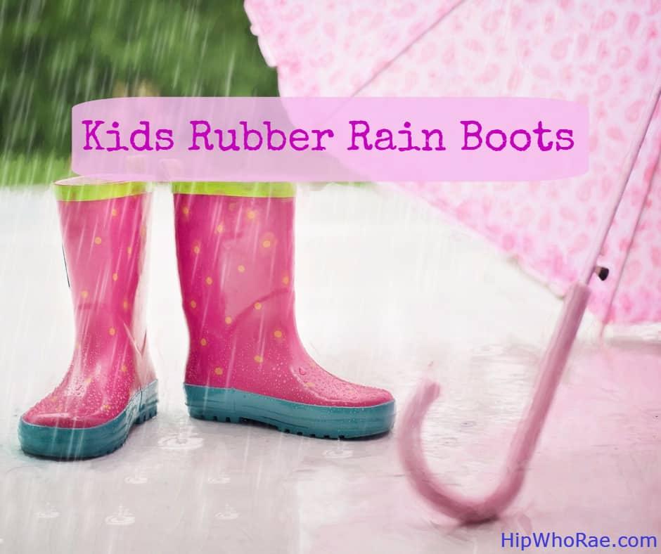 Best Kids Rubber Rain Boots