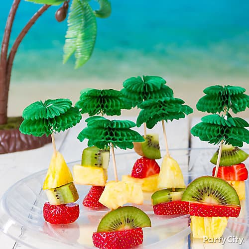 Luau Party snacks ideas