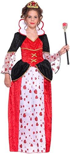 Alice In Wonderland Queen Of Hearts Costume, Kids