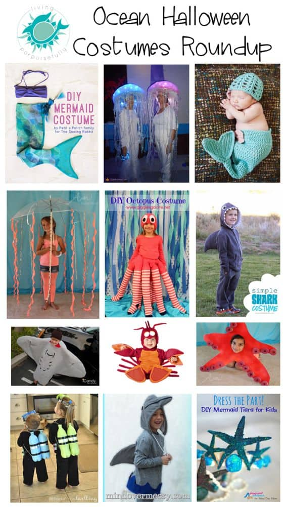 beach theme party costume ideas
