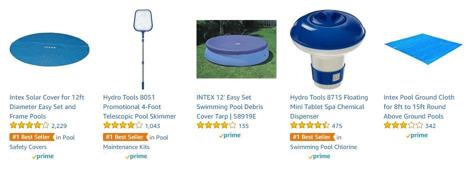 Easy Set Pool Accessories _ People who bought an Easy Set Pool also bought these items