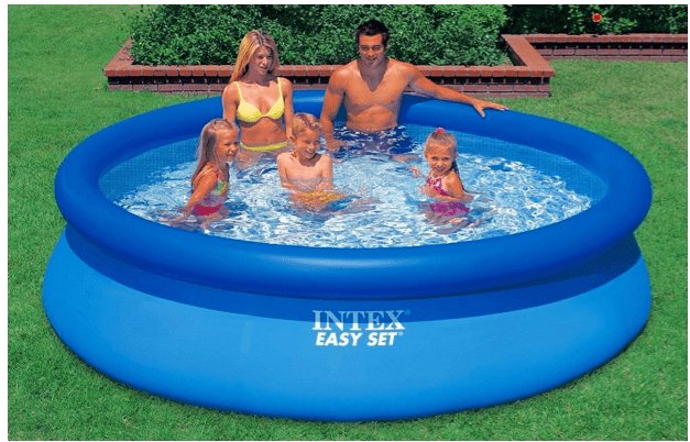 Best Easy Set Pool no need to go to the beach. This is a top-quality easy set pool - love it!