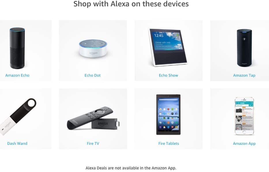 Alexa Deals For Prime Day