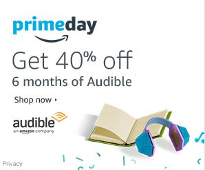 Prime Day 40 percent off Audible