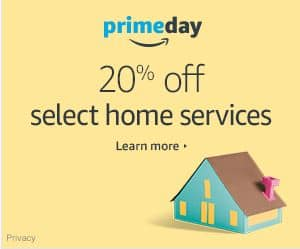 Prime day home services deals