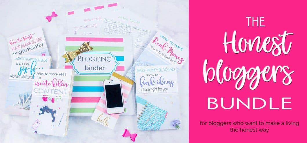 The Honest Bloggers Bundle By Sarah Titus