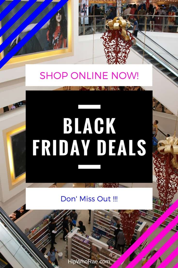Black Friday Deals- Get Shopping Online for the best deals for this Black Friday. Great to get ready for Christmas