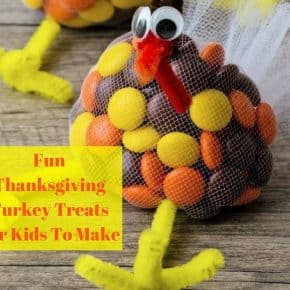 Fun Thanksgiving Turkey Treats For Kids To Make