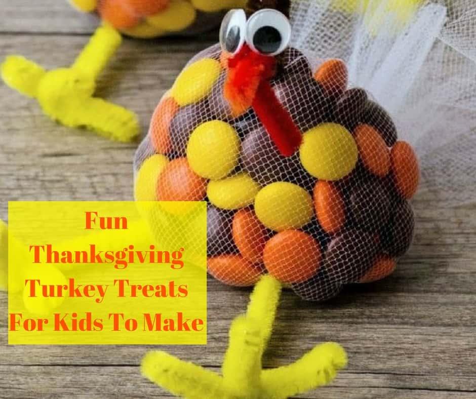 Fun Thanksgiving Turkey Treats for Kids to Make