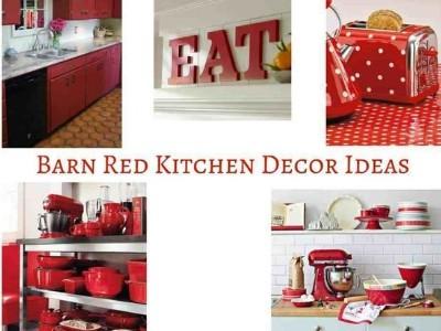 Barn Red Kitchen Decor Ideas Hip Hoo Rae