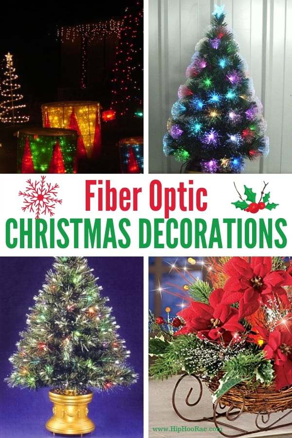 Fiber Optic Christmas Decorations Hip Hoo Rae