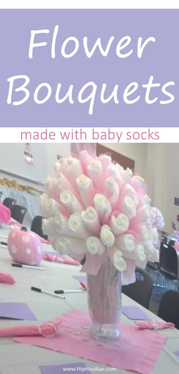 Diy Baby Sock Bouquets They Are Really Easy So Have A Go