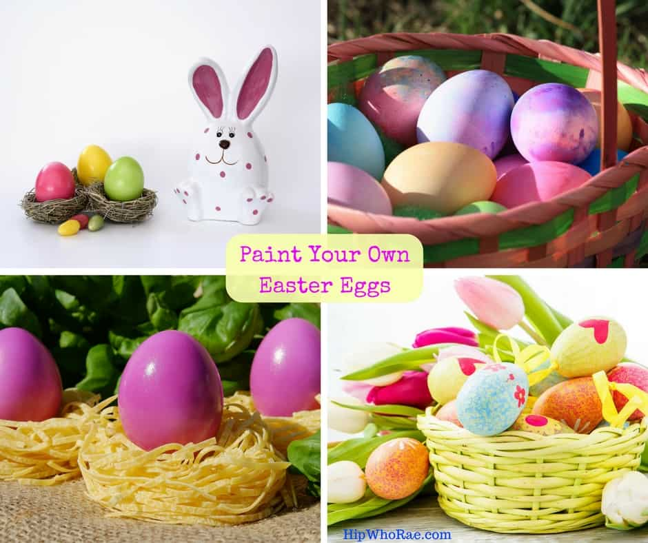 Paint Your Own Easter Eggs