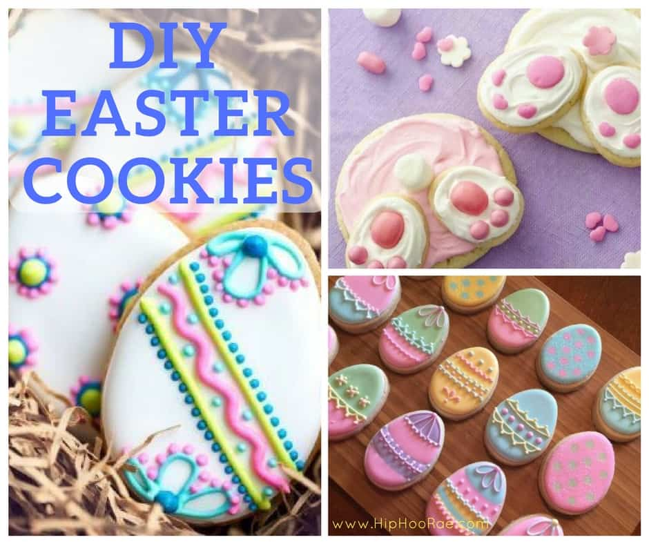 Diy fun and creative egg cellent easter craft ideas for the whole diy easter cookies solutioingenieria Image collections