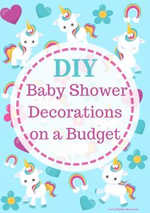 DIY Baby Shower Decorations on a Budget