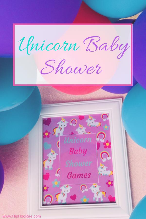 Unicorn Baby Shower Games