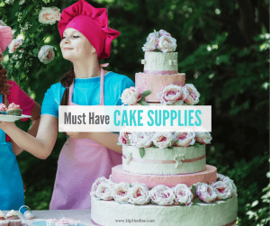 Must Have Cake Supplies