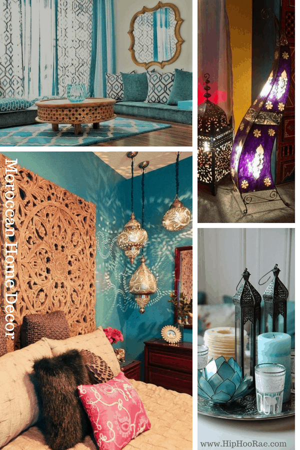 Moroccan Home Decor great ideas to get the Moroccan theme #moroccanhomedecor