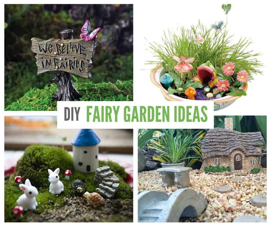 Miniature Dollhouse FAIRY GARDEN Fairy Sign Dreams in Flight with Birds Figurine