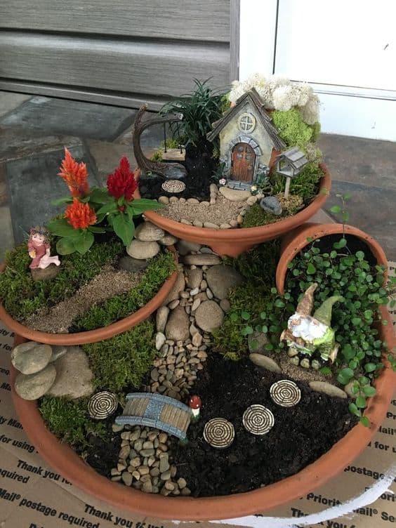 Diy Fairy Garden Ideas Hip Hoo Rae