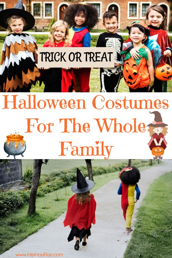 Family Of 4 Halloween Costumes 2019.Halloween Costumes For The Whole Family Check Them Out