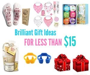 Brilliant Gift ideas for less than 15