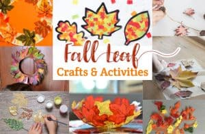 Fall Leaf Crafts and Activities