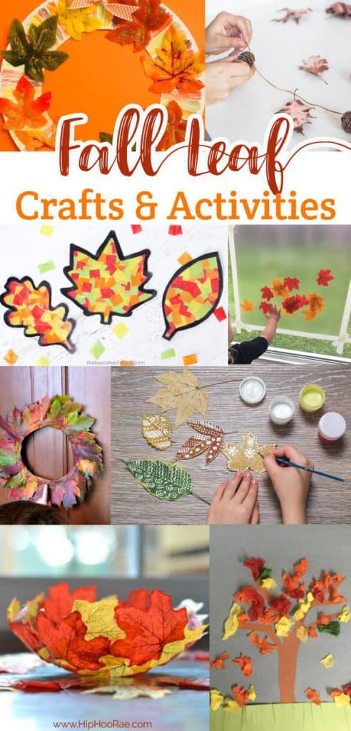 Fall Leaf Crafts And Activities For Kids Hip Hoo Rae
