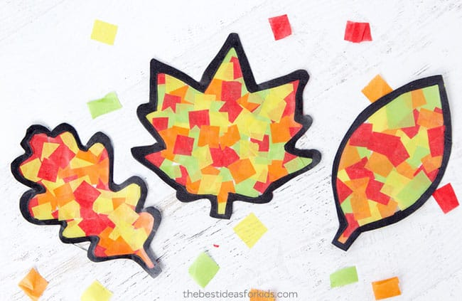 Fall Leaf Crafts and Activities For Kids - Hip Hoo-Rae