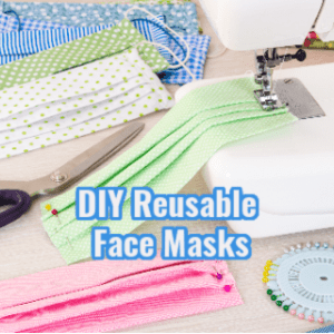 DIY Reusable Face masks